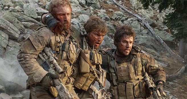 Mark Wahlberg, Ben Foster and Emile Hirsch in Lone Survivor